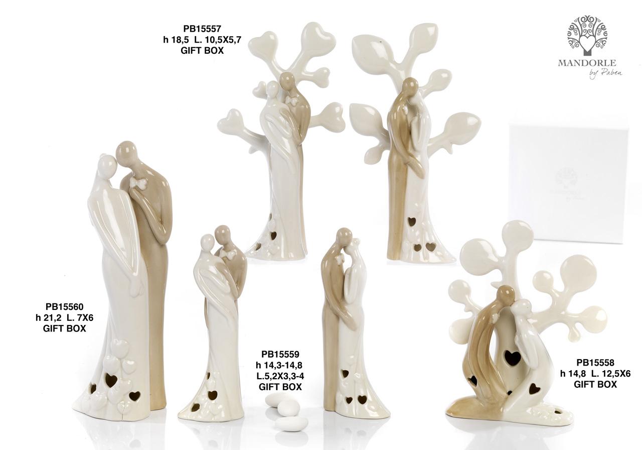 1AD3 - Collezioni Porcellana-Ceramica - Mandorle Bomboniere  - Prodotti - Rebolab