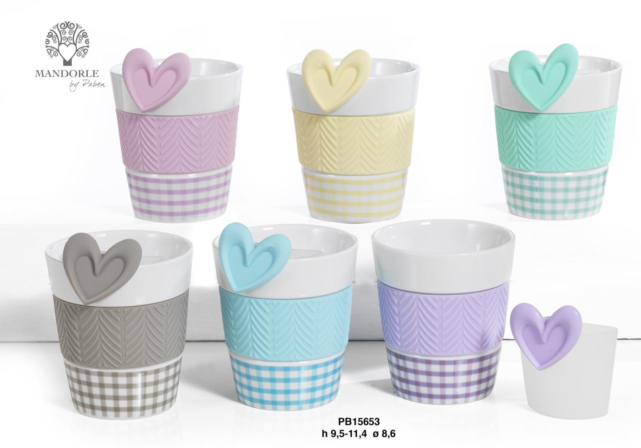 1AF1 - Collezioni Porcellana-Ceramica - Mandorle Bomboniere  - Prodotti - Rebolab