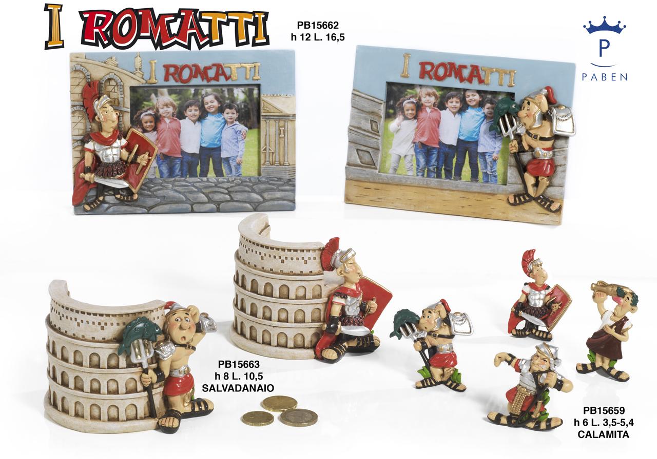 1AF4 - I Romatti - Arte, Storia e Souvenir - Novità - Paben