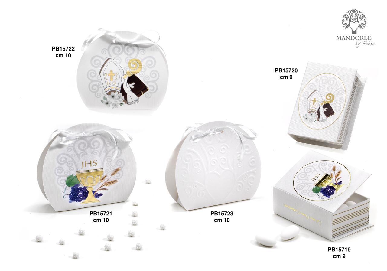 1B04 - Portaconfetti - Scatoline - Mandorle Bomboniere  - Prodotti - Rebolab