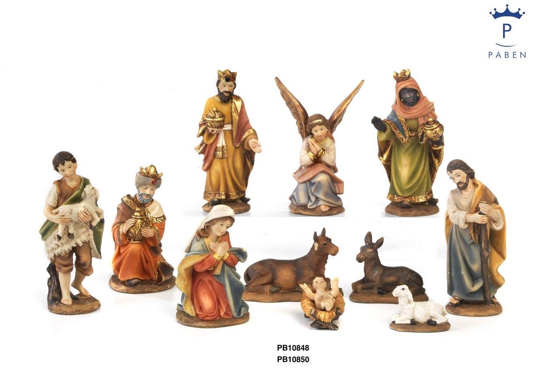 1B0C - Presepi - Natività Resina - Articoli Religiosi - Prodotti - Rebolab