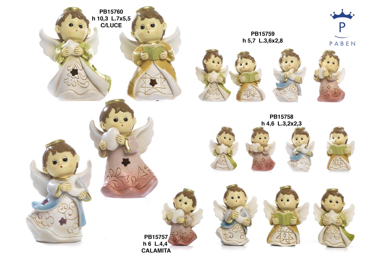 1B11 - Angeli Resina - Articoli Religiosi - Prodotti - Rebolab