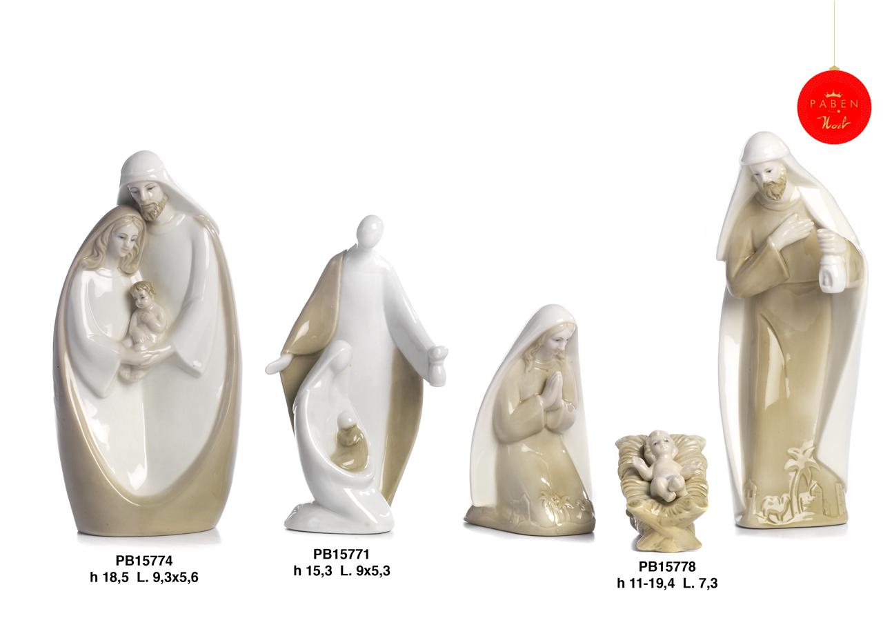 1B15 - Presepi - Natività Porcellana - Natale e Altre Ricorrenze - Prodotti - Rebolab