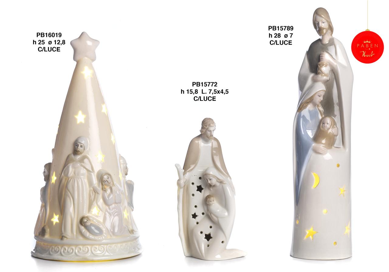 1B16 - Presepi - Natività Porcellana - Articoli Religiosi - Prodotti - Rebolab