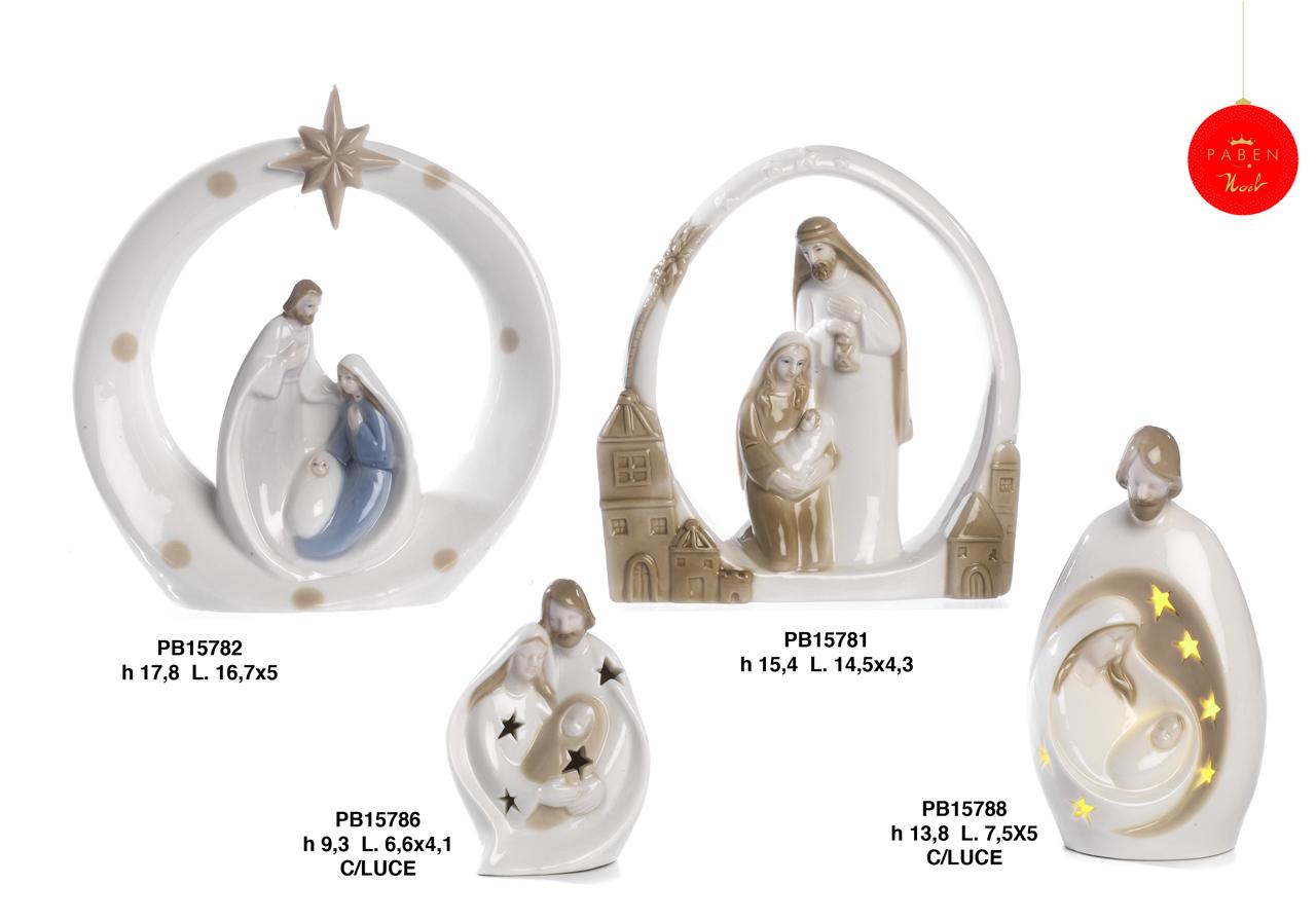 1B19 - Presepi - Natività Porcellana - Natale e Altre Ricorrenze - Prodotti - Rebolab