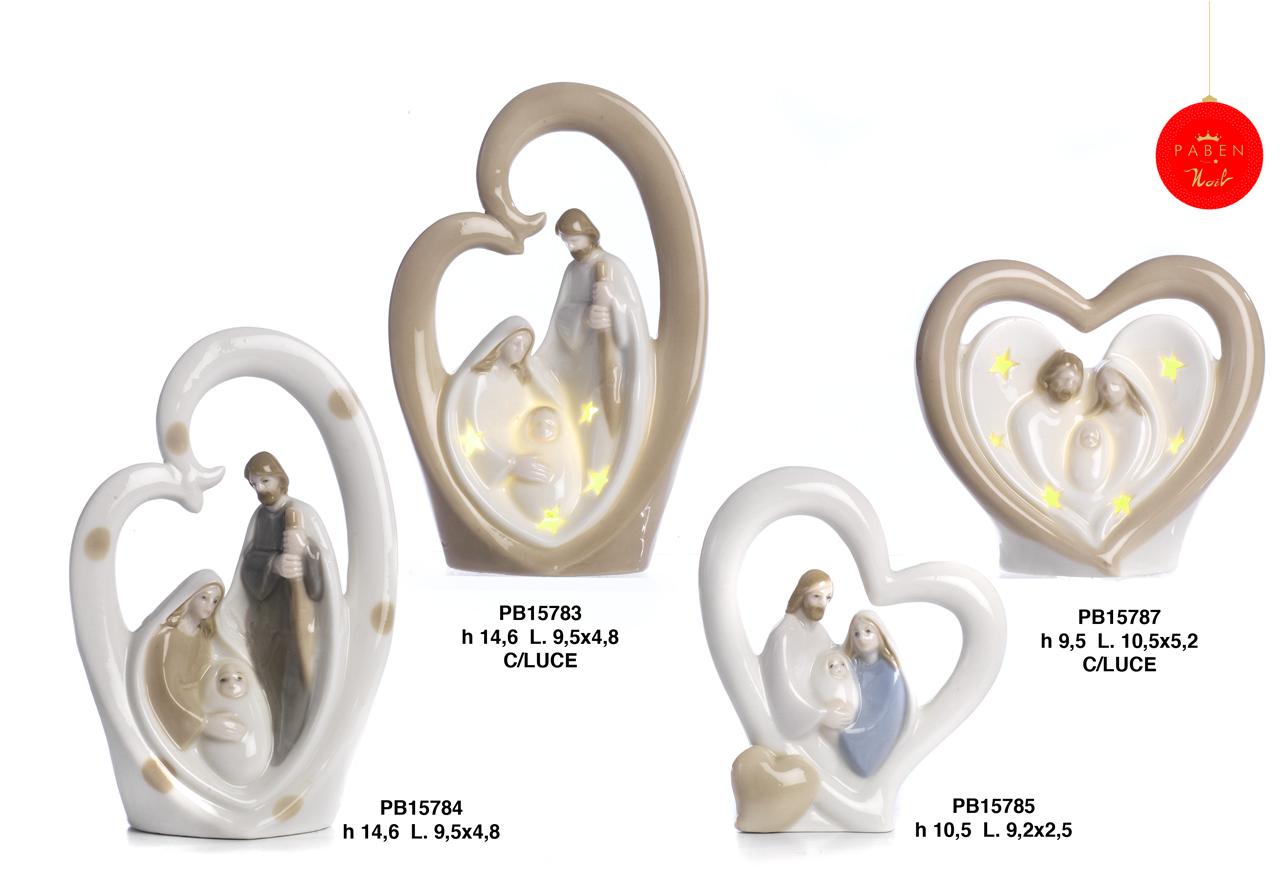 1B1A - Presepi - Natività Porcellana - Articoli Religiosi - Prodotti - Rebolab