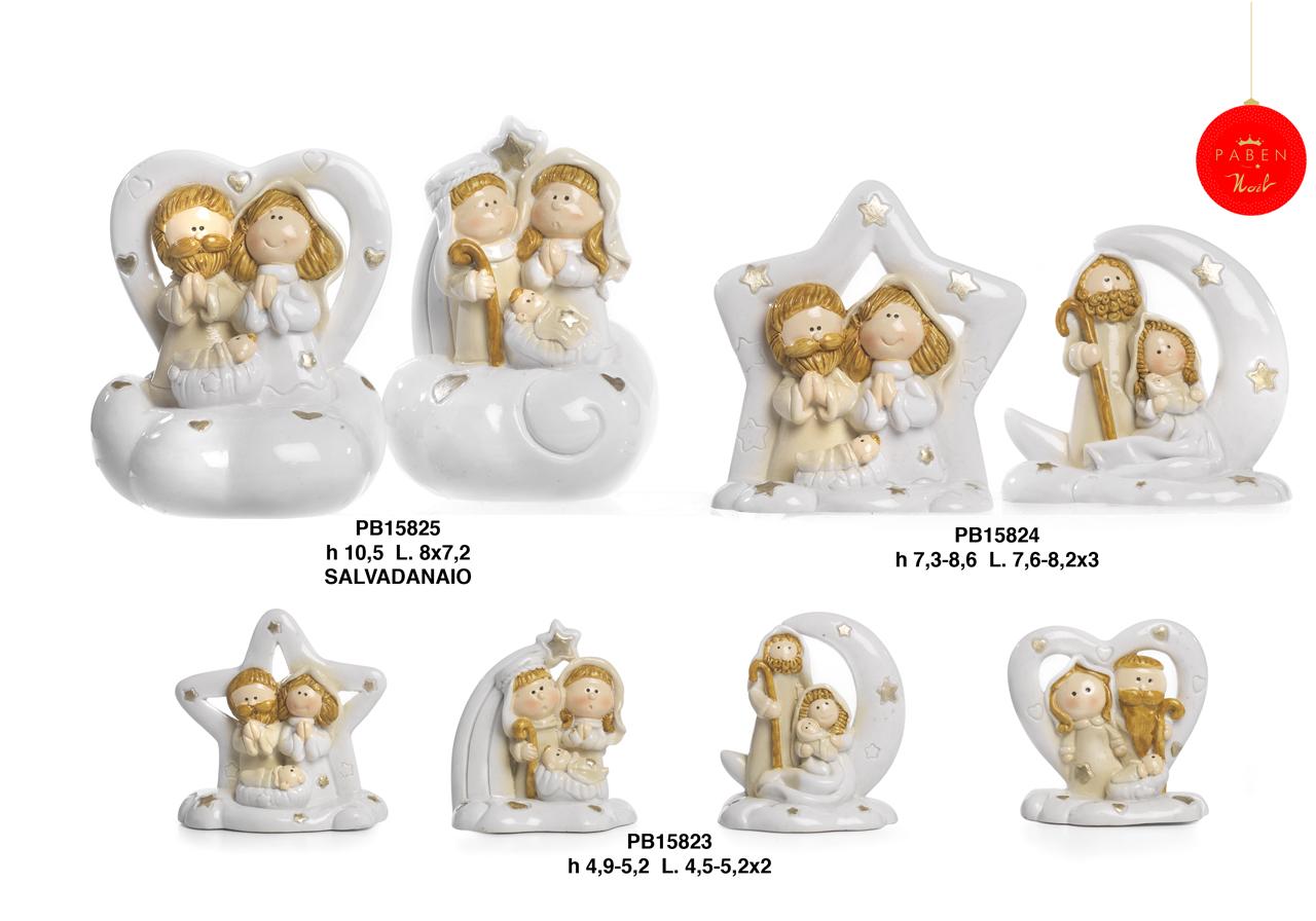 1B25 - Presepi - Natività Resina - Articoli Religiosi - Prodotti - Rebolab