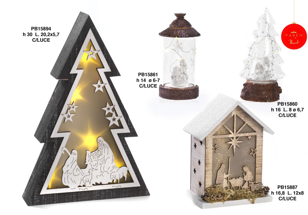1B32 - Decorazioni - Addobbi Natalizi - Natale e Altre Ricorrenze - Prodotti - Rebolab