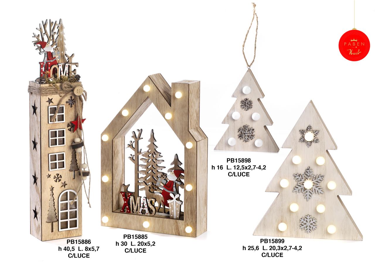 1B38 - Decorazioni - Addobbi Natalizi - Natale e Altre Ricorrenze - Prodotti - Rebolab