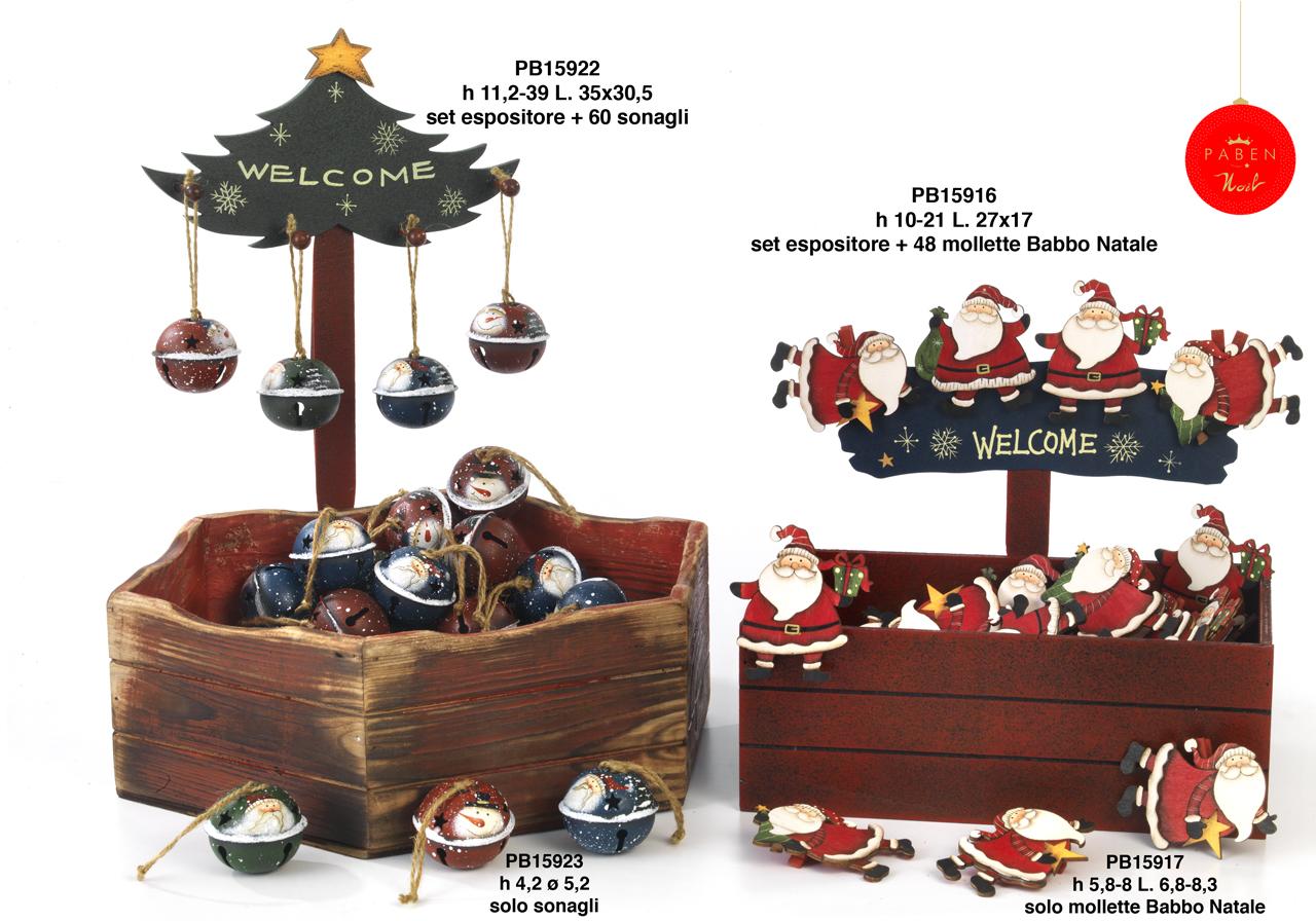1B40 - Decorazioni - Addobbi Natalizi - Natale e Altre Ricorrenze - Prodotti - Rebolab