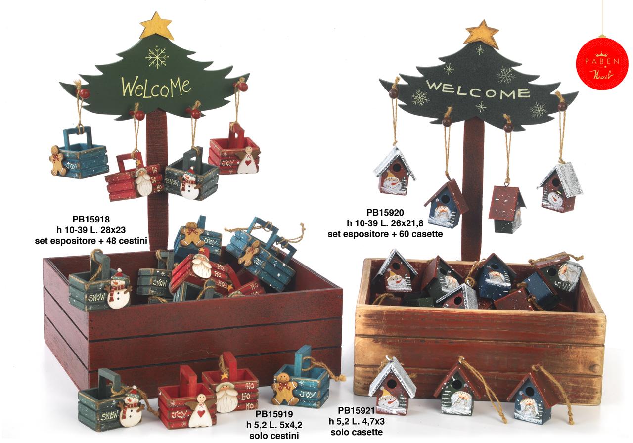 1B41 - Decorazioni - Addobbi Natalizi - Natale e Altre Ricorrenze - Prodotti - Rebolab