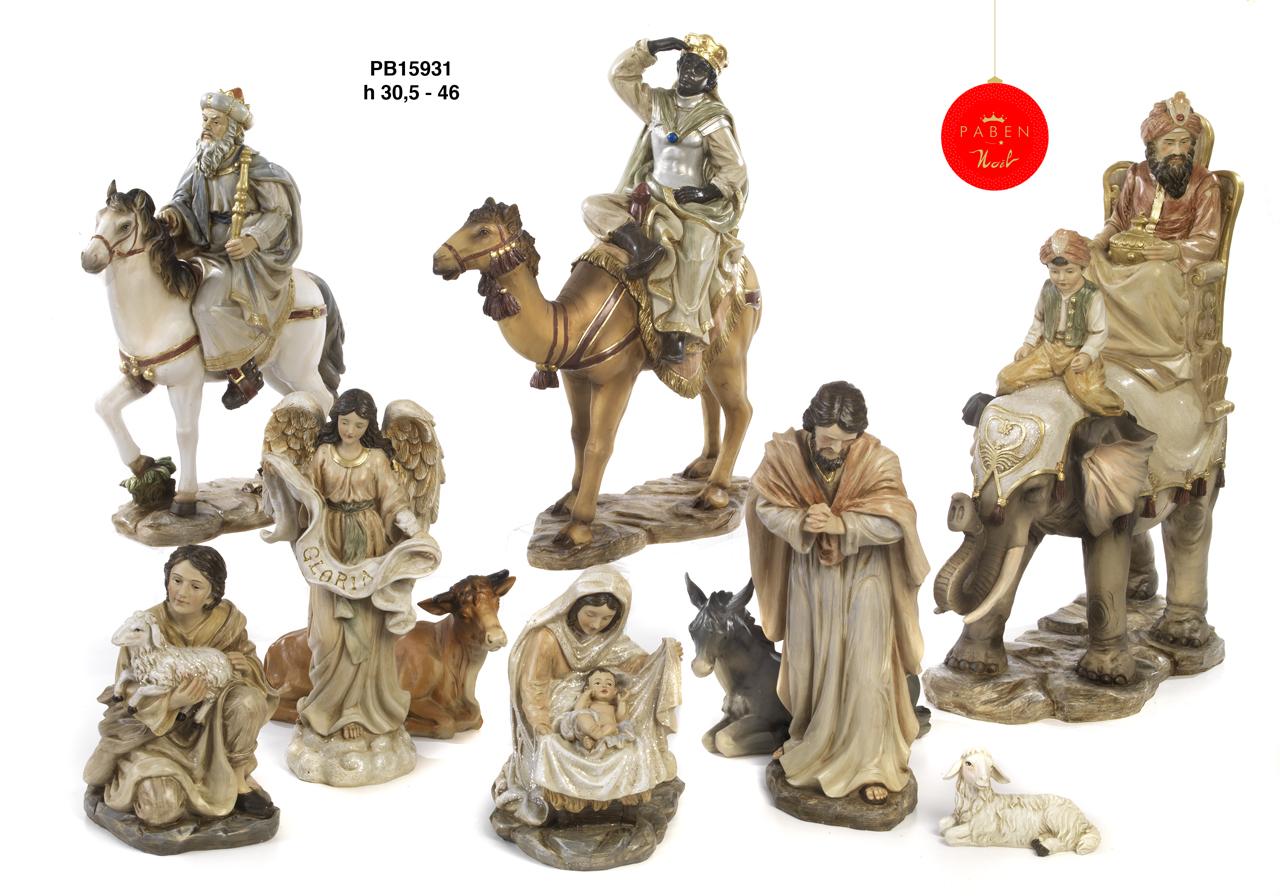 1B46 - Presepi - Natività Resina - Natale e Altre Ricorrenze - Prodotti - Rebolab