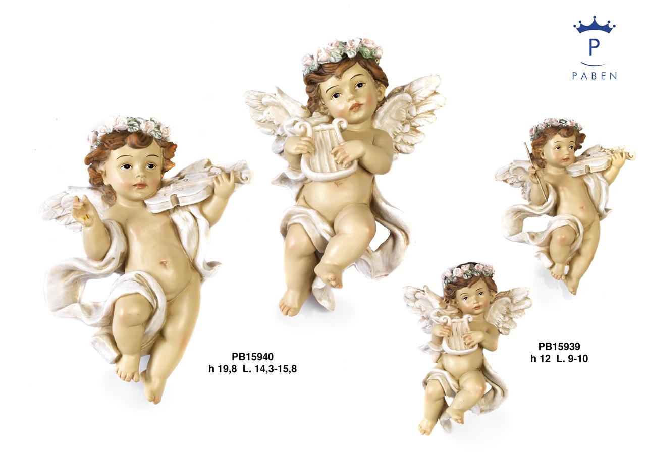 1B4A - Angeli Resina - Natale e Altre Ricorrenze - Prodotti - Rebolab