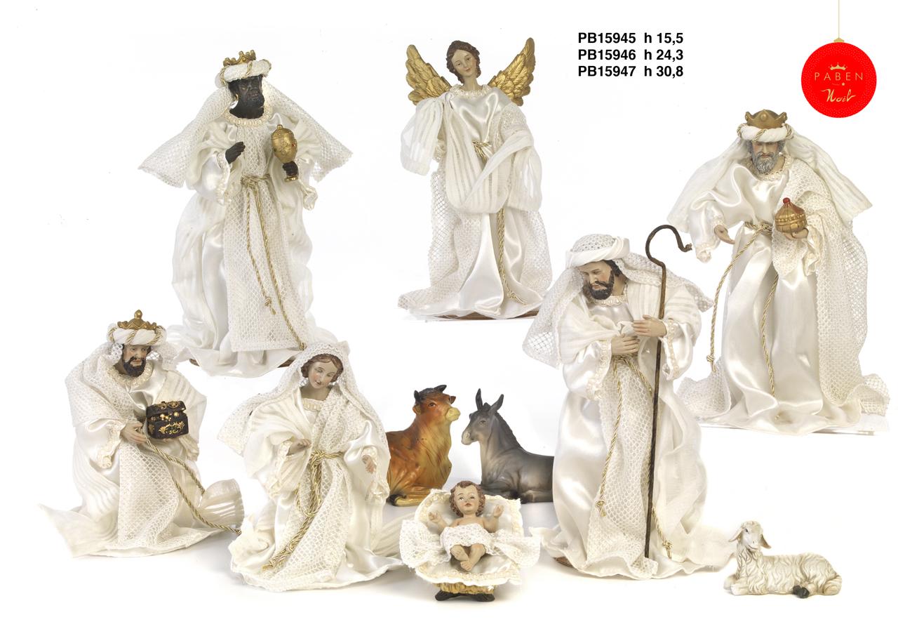 1B4C - Presepi - Natività Resina - Articoli Religiosi - Prodotti - Rebolab