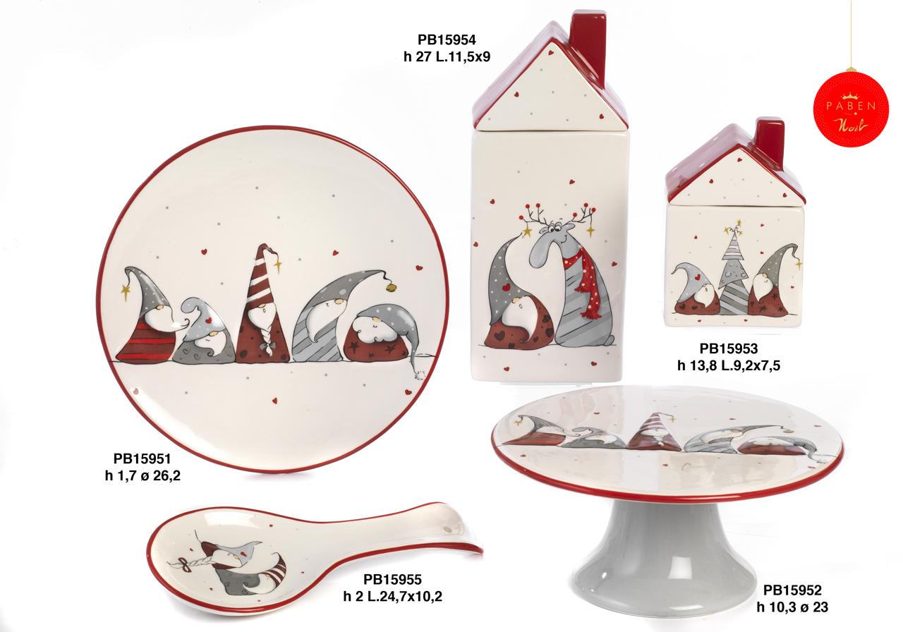 1B4E - Regali - Ceramiche Natalizie - Natale e Altre Ricorrenze - Prodotti - Rebolab