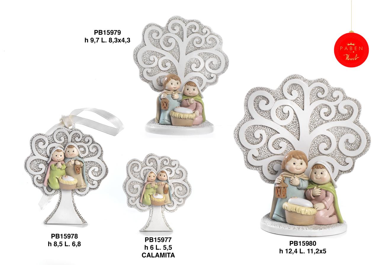 1B55 - Presepi - Natività Resina - Articoli Religiosi - Prodotti - Rebolab