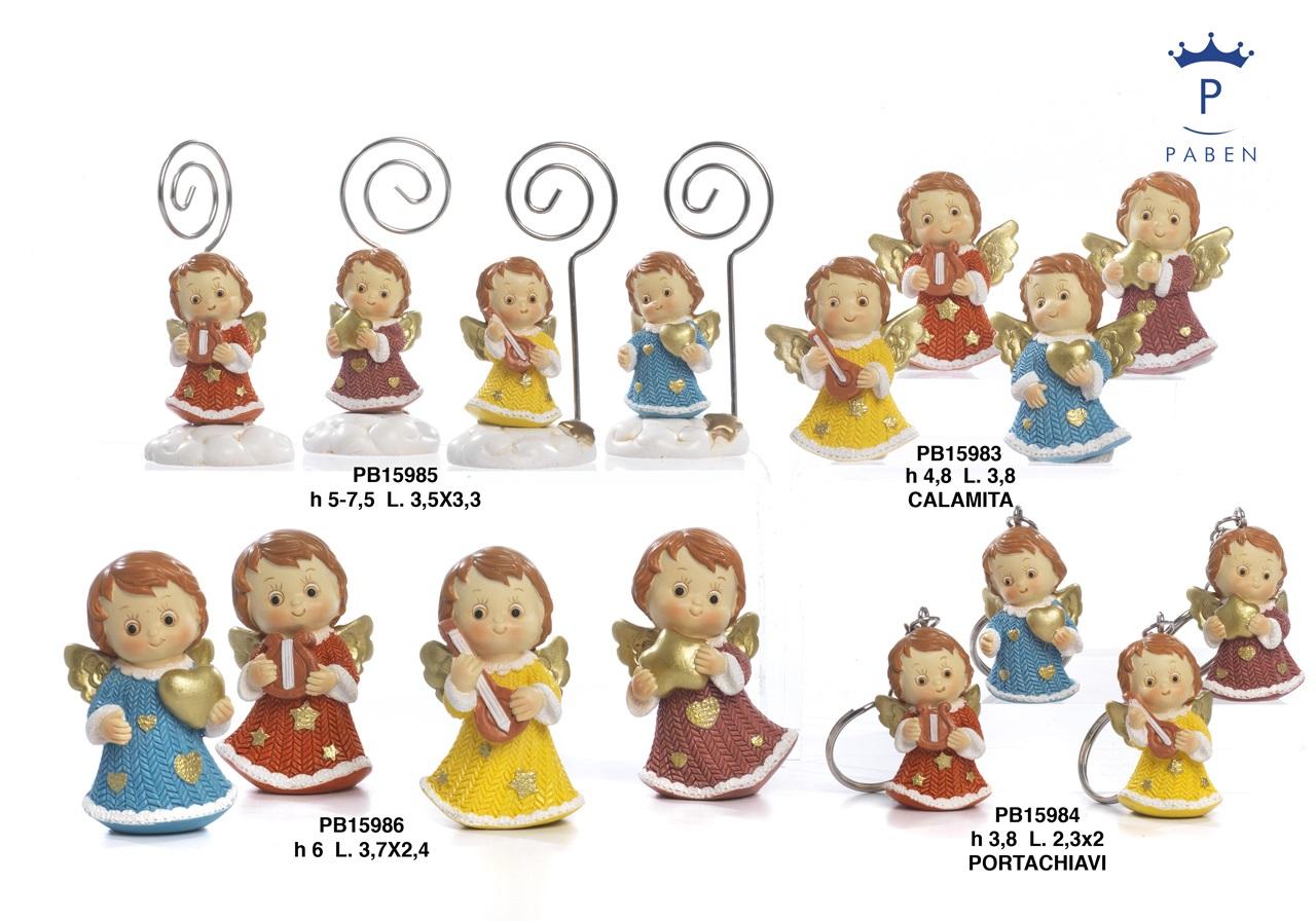 1B56 - Angeli Resina - Natale e Altre Ricorrenze - Prodotti - Rebolab