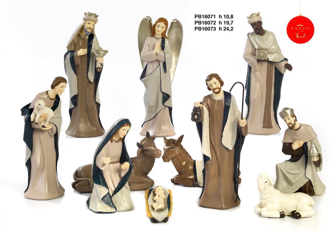 1B6F - Presepi - Natività Resina - Articoli Religiosi - Prodotti - Rebolab