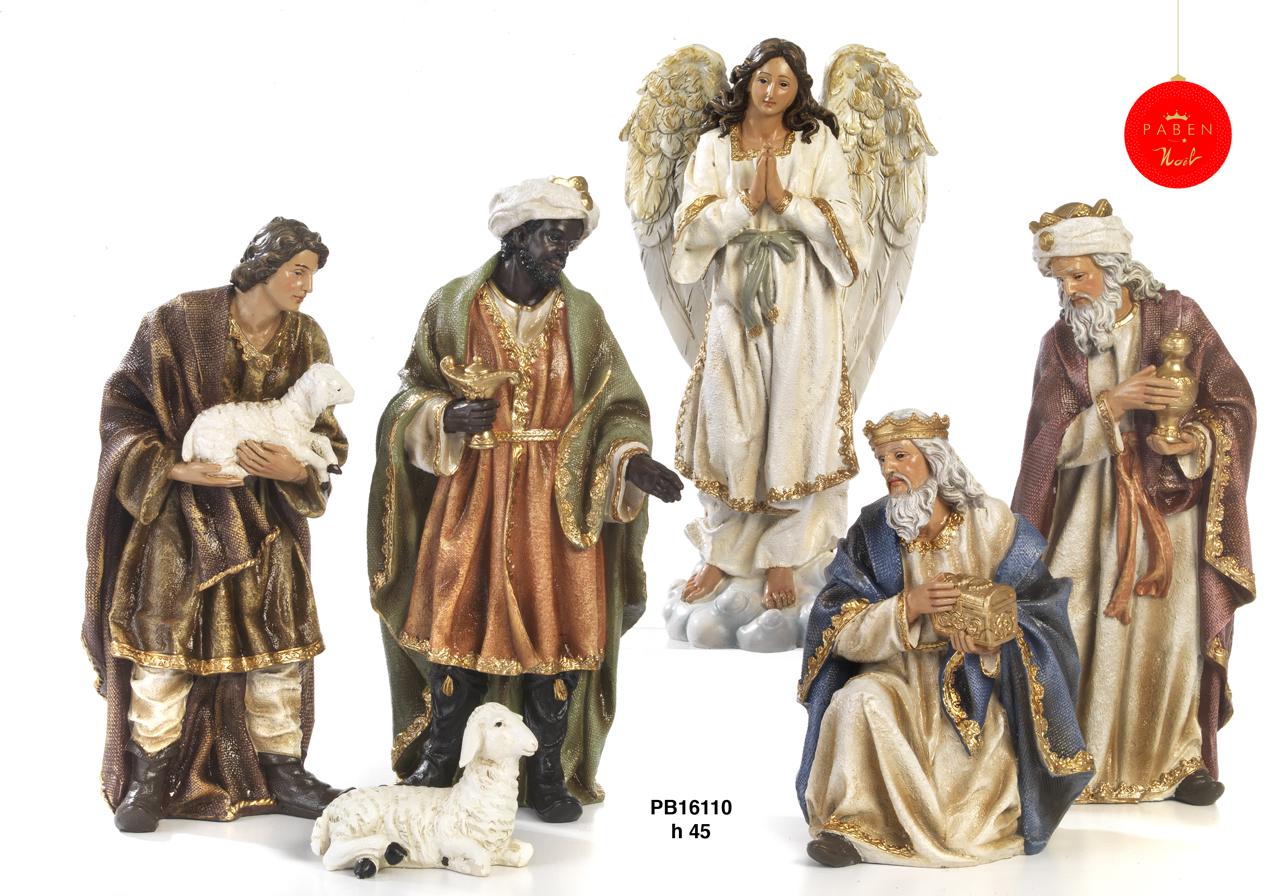 1B79 - Presepi - Natività Resina - Articoli Religiosi - Prodotti - Rebolab