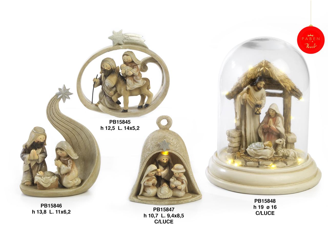 1B91 - Presepi - Natività Resina - Articoli Religiosi - Prodotti - Rebolab