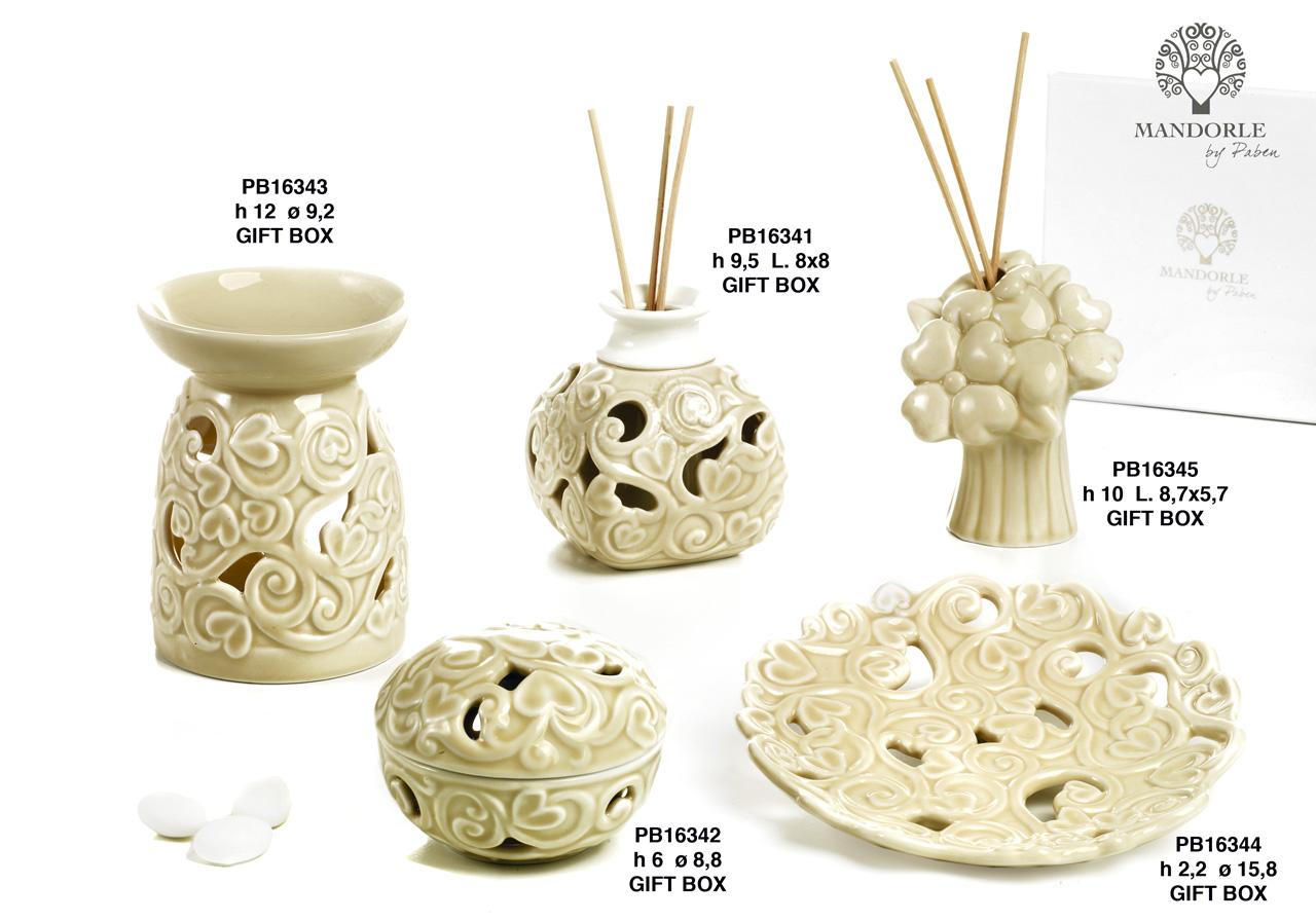 1BBC - Collezioni Porcellana-Ceramica - Mandorle Bomboniere  - Novità - Paben