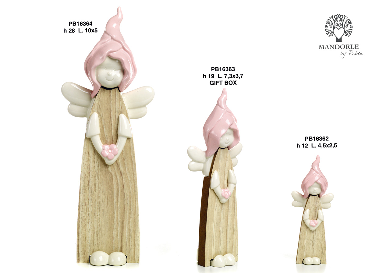 1BC1 - Bambini - Fatine Porcellana - Mandorle Bomboniere  - Prodotti - Rebolab