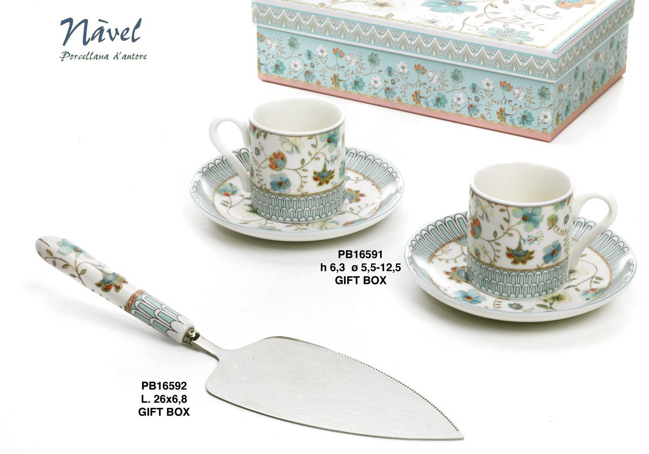 1BF6 - Collezioni Porcellana-Ceramica - Mandorle Bomboniere  - Prodotti - Rebolab