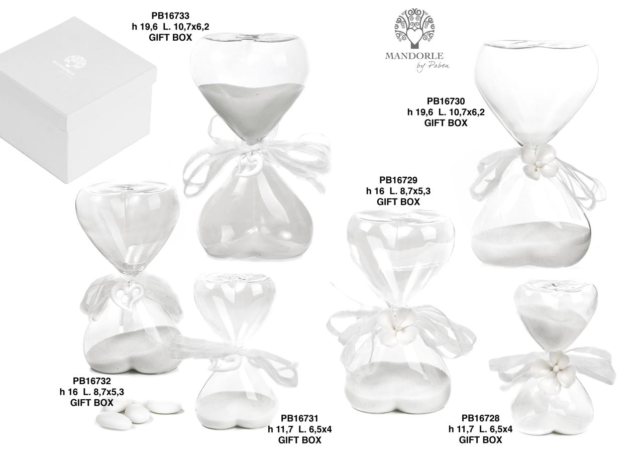 1C15 - Collezioni Vetro - Mandorle Bomboniere  - Prodotti - Rebolab