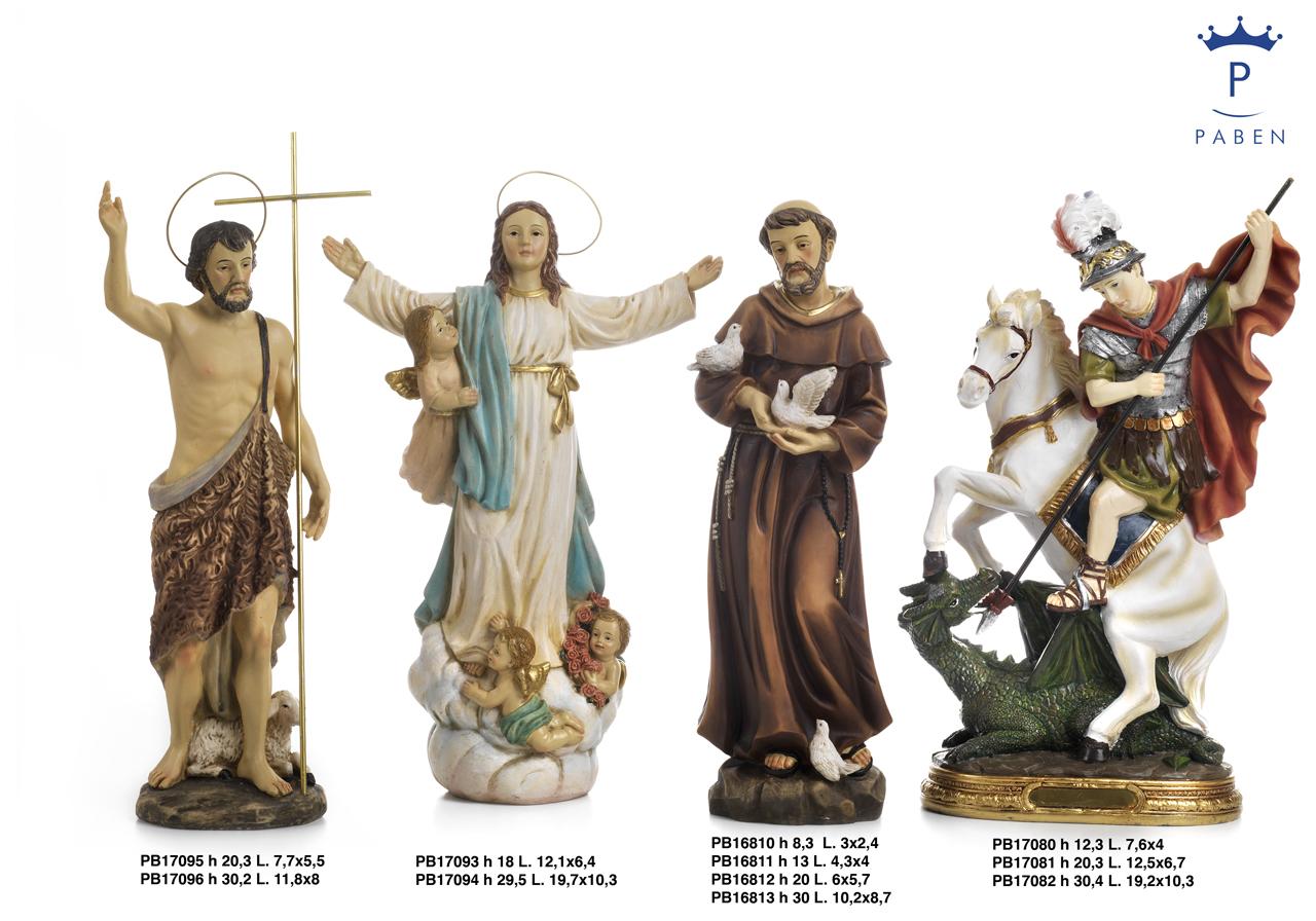 1C33 - Statue Santi - Articoli Religiosi - Prodotti - Rebolab