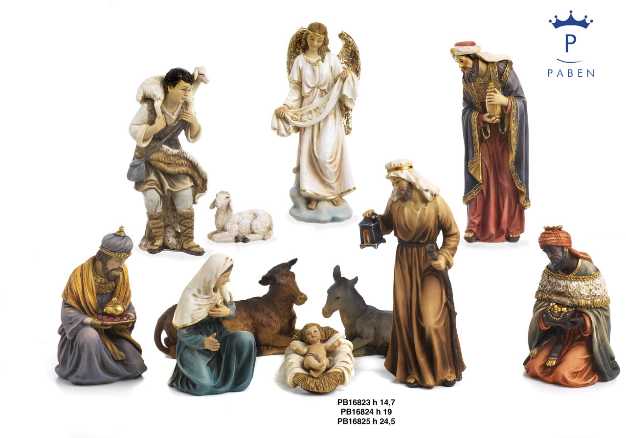 1C36 - Presepi - Natività Resina - Articoli Religiosi - Prodotti - Rebolab