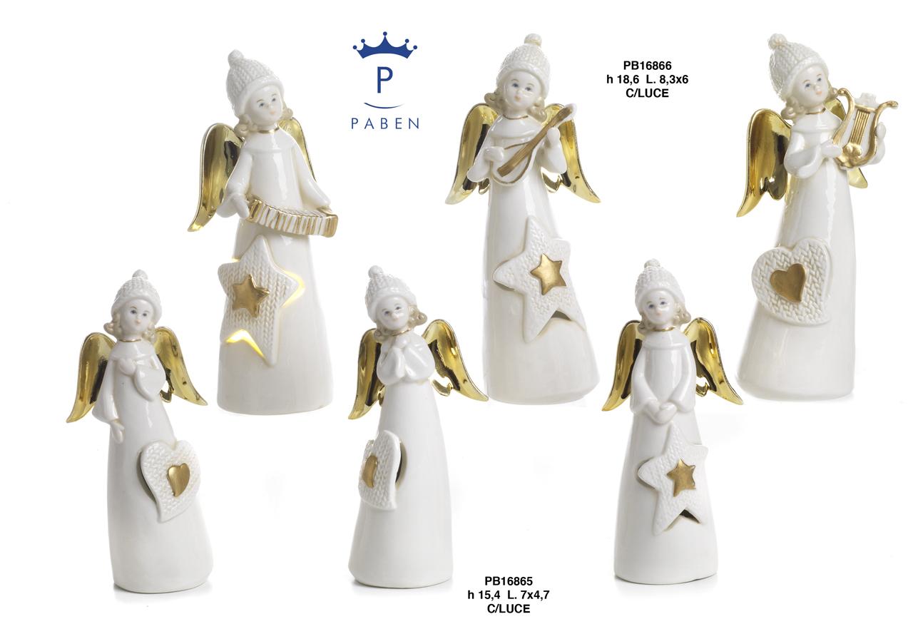 1C41 - Angeli Porcellana - Articoli Religiosi - Prodotti - Rebolab