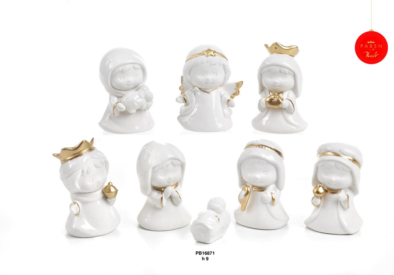 1C43 - Presepi - Natività Porcellana - Natale e Altre Ricorrenze - Prodotti - Rebolab