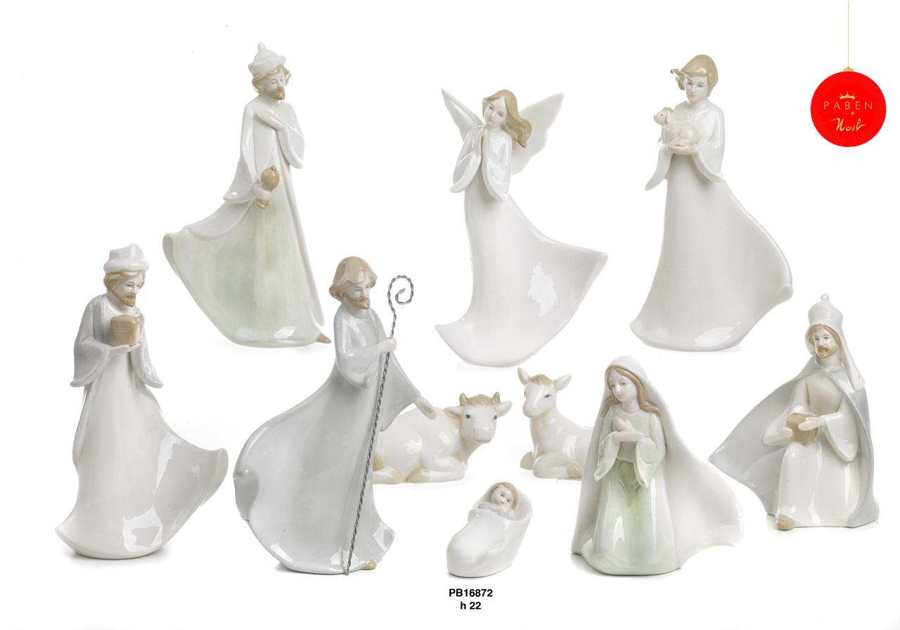 1C44 - Presepi - Natività Porcellana - Natale e Altre Ricorrenze - Prodotti - Rebolab