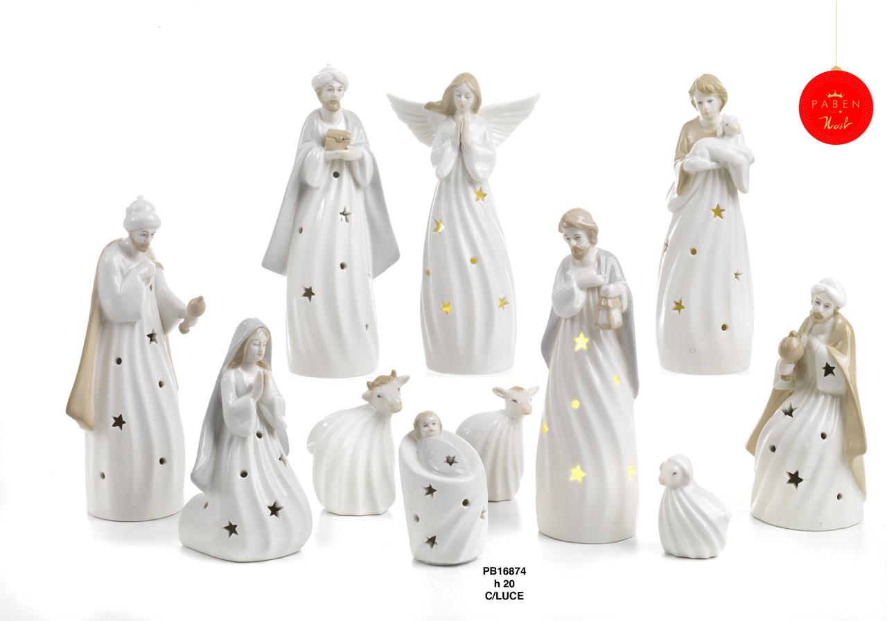 1C46 - Presepi - Natività Porcellana - Articoli Religiosi - Prodotti - Rebolab