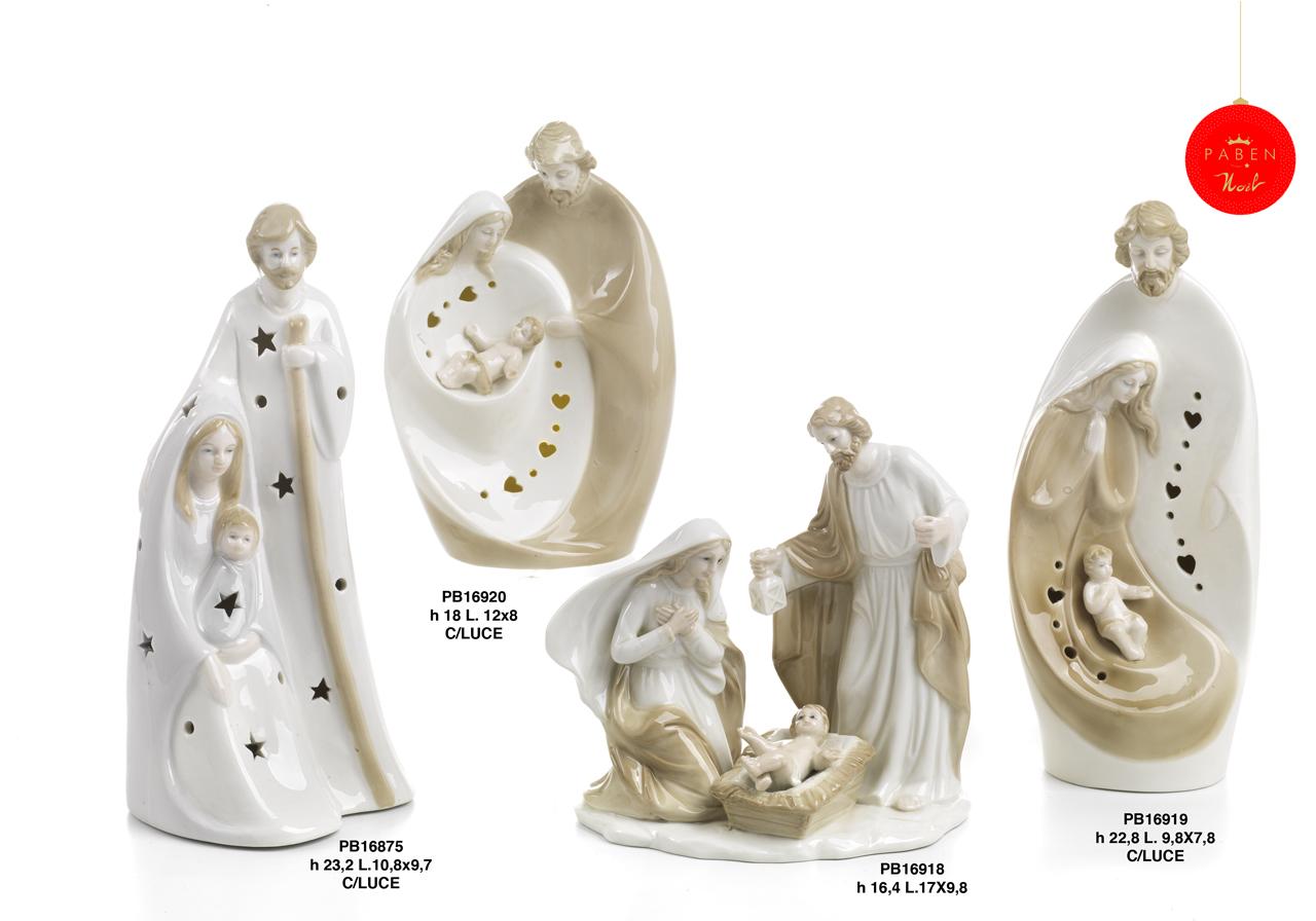 1C47 - Presepi - Natività Porcellana - Articoli Religiosi - Prodotti - Rebolab