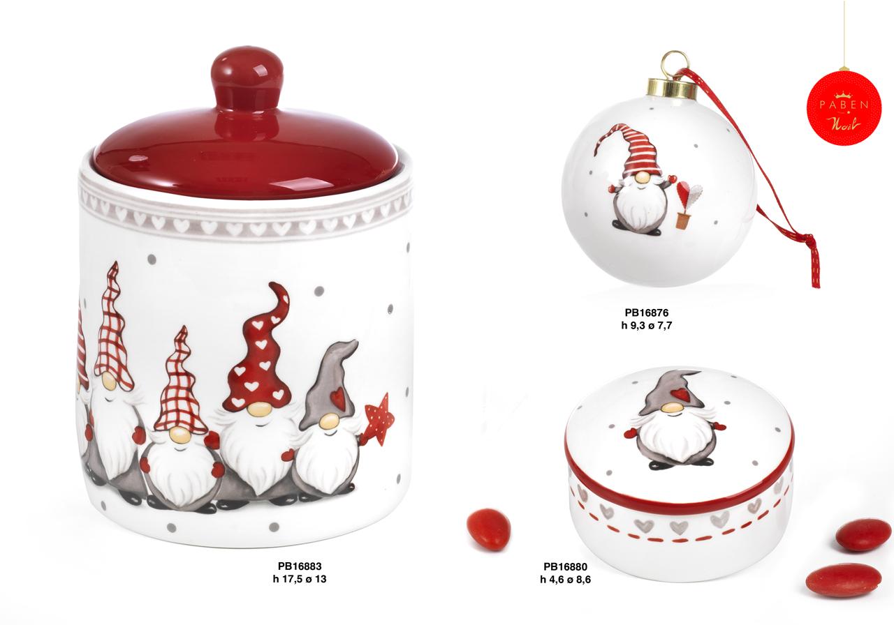 1C48 - Regali - Ceramiche Natalizie - Natale e Altre Ricorrenze - Prodotti - Rebolab