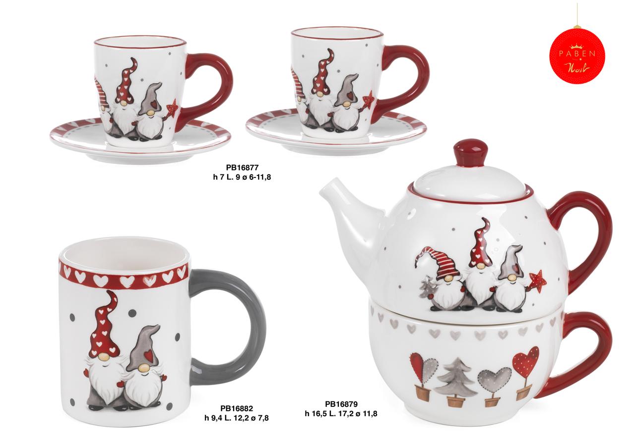 1C49 - Regali - Ceramiche Natalizie - Natale e Altre Ricorrenze - Prodotti - Rebolab