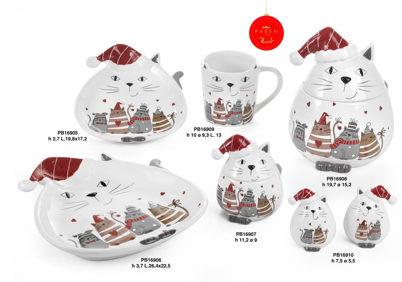 1C52 - Regali - Ceramiche Natalizie - Natale e Altre Ricorrenze - Prodotti - Rebolab