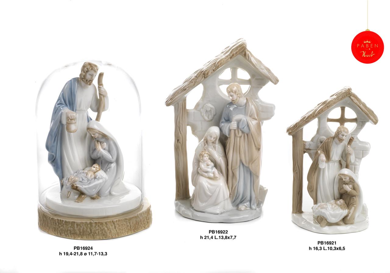 1C55 - Presepi - Natività Porcellana - Articoli Religiosi - Prodotti - Rebolab