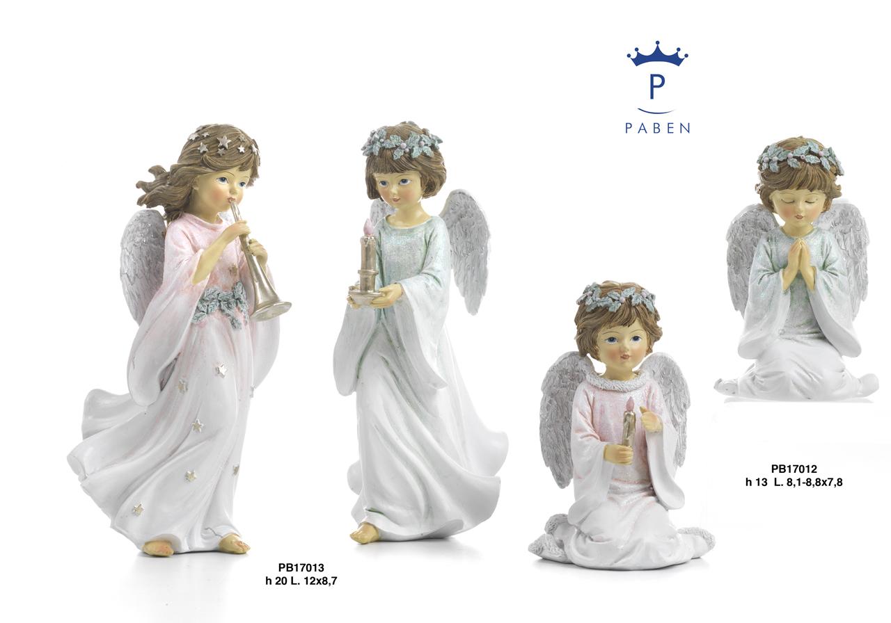 1C75 - Angeli Resina - Mandorle Bomboniere  - Prodotti - Rebolab