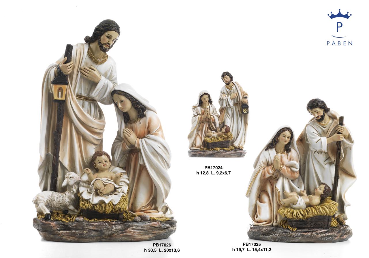 1C79 - Presepi - Natività Resina - Articoli Religiosi - Prodotti - Rebolab