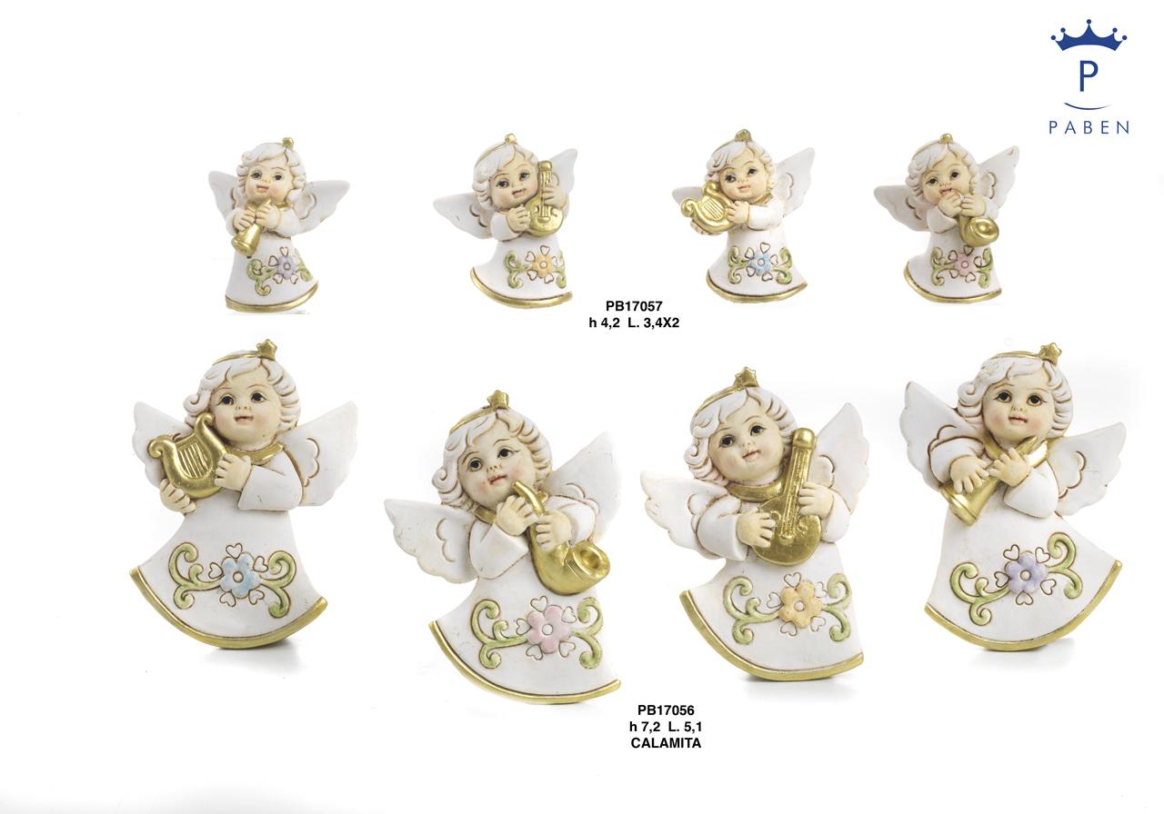 1C80 - Angeli Resina - Natale e Altre Ricorrenze - Prodotti - Rebolab