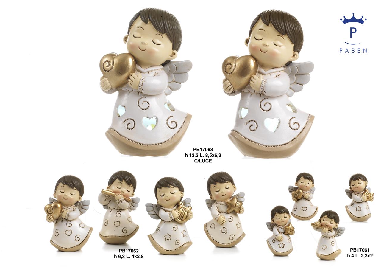 1C83 - Angeli Resina - Articoli Religiosi - Prodotti - Rebolab