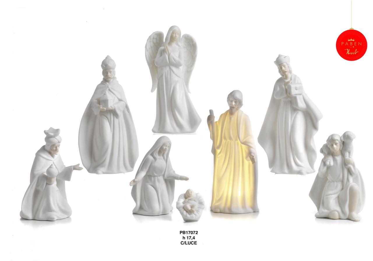 1C86 - Presepi - Natività Porcellana - Articoli Religiosi - Prodotti - Rebolab