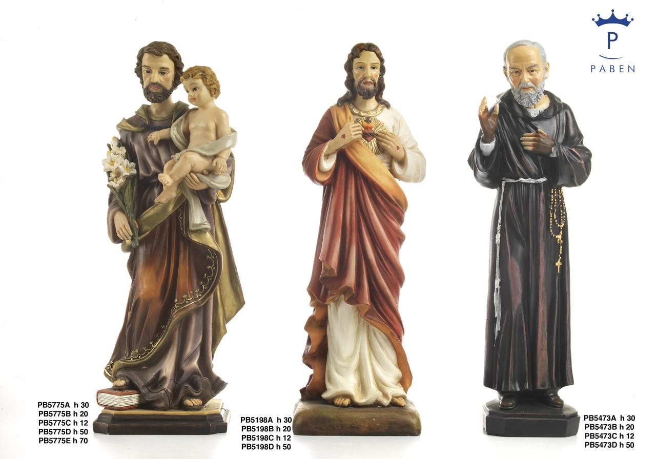 1C95 - Statue Santi - Articoli Religiosi - Prodotti - Rebolab