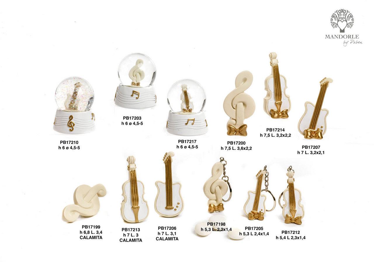 1CB2 - Musical Instruments - Mandorle Bonbonnieres - New arrivals - Paben