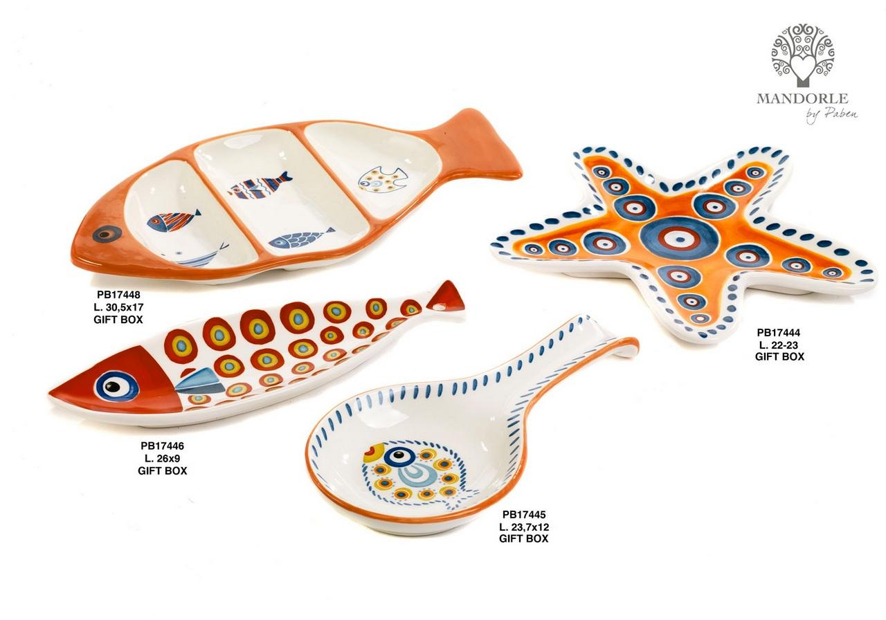 1CE8 - Collezioni Porcellana-Ceramica - Mandorle Bomboniere  - Prodotti - Rebolab
