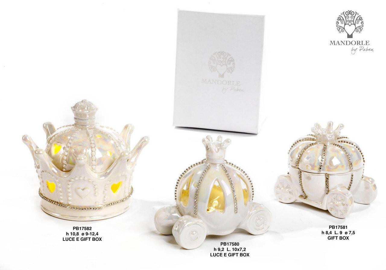 1D0C - Collezioni Porcellana-Ceramica - Mandorle Bomboniere  - Prodotti - Rebolab