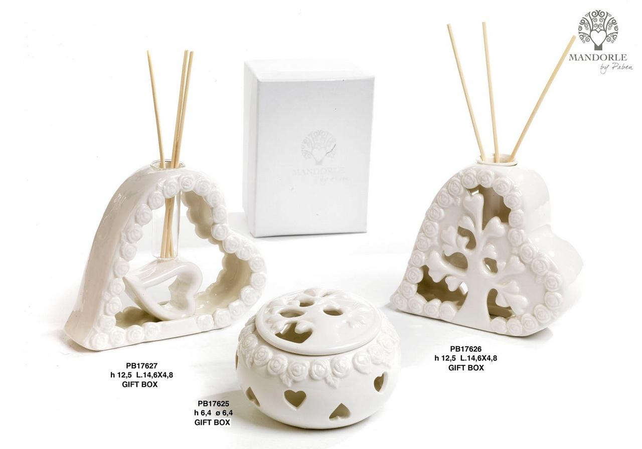 1D17 - Collezioni Porcellana-Ceramica - Mandorle Bomboniere  - Prodotti - Rebolab