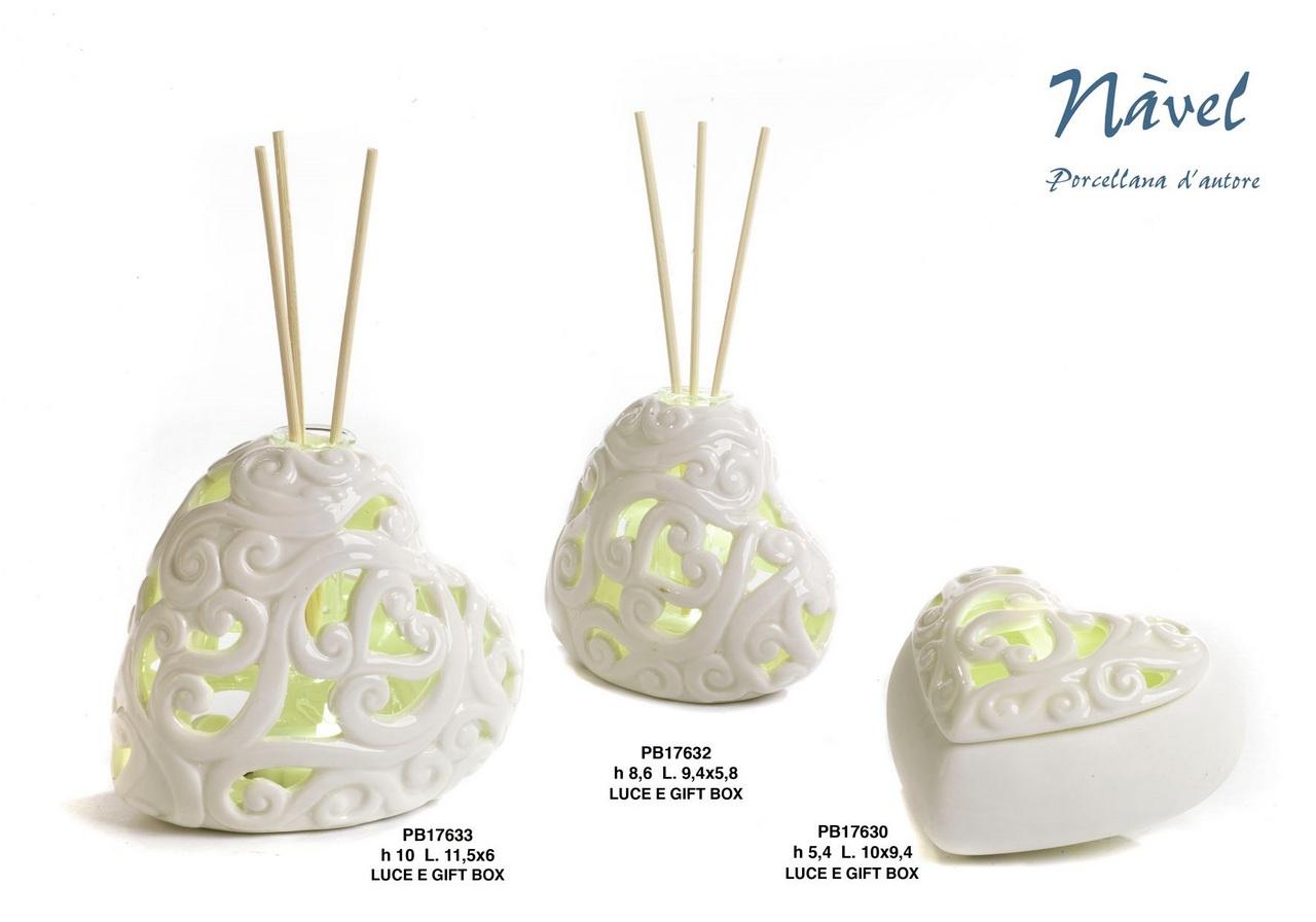 1D19 - Collezioni Porcellana-Ceramica - Mandorle Bomboniere  - Prodotti - Rebolab